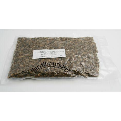 Alimento Larvas enteras deshidratadas de mosca soldado 80g