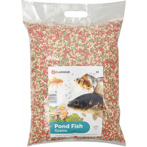 "main image of ""Alimento para peces de estanque, agregado - 15 litros"""