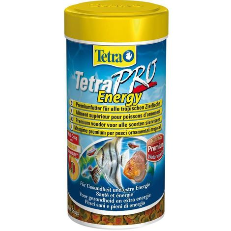 Alimento para peces tropicales TetraPro Energy 100ml