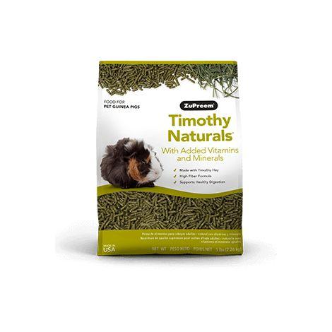 Alimento premium para cobayas TIMOTHY NATURES PROMISE ZUPREEM 2.25 kg kg