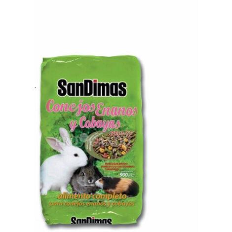 Alimento SAN DIMAS 900g para conejos enanos y coballas