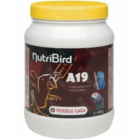 Aliments NutriBird A19 Versele Laga pour aras, eclectus et perroquets 800 g