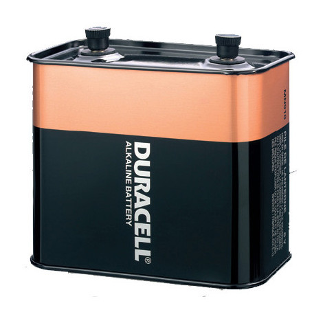 Alkaline battery 4LR25-2 - MN918 Duracell Métal 6V 27Ah