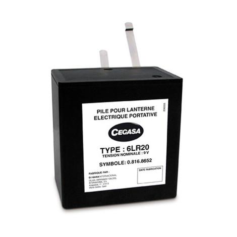 Alkaline battery 6LR20 Cegasa 9V 15Ah