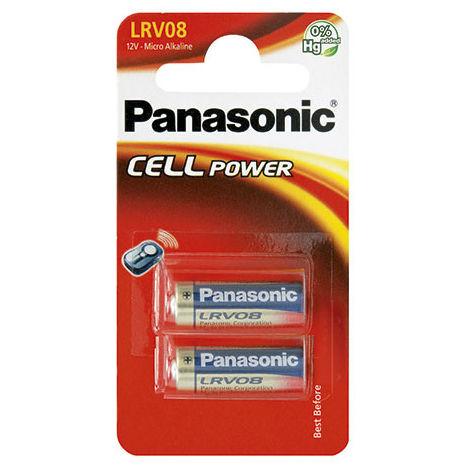 Alkaline battery (blister) LRV08 / 23A - Blister of 2 12V 33mAh