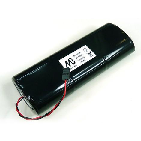 Alkaline battery pack 6LR20 (2 sticks of 3) 9V 19.76Ah T2