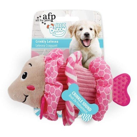 All For Paws Juguete Cachorro Dental - Lelesea Crujiente 18cm