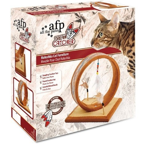 All For Paws Muebles Rascadores Dreams Catcher - Halushka