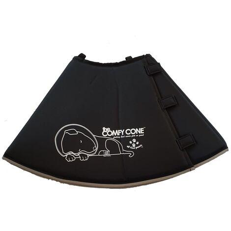 All Four Paws E-collar Comfy Cone L 25 cm Black