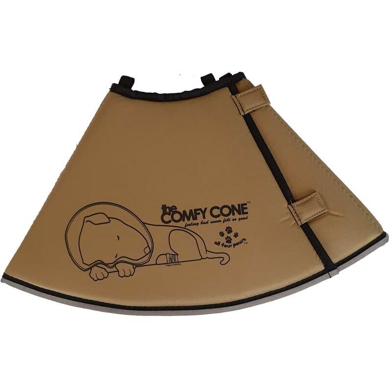 Image of Pet E-collar Comfy Cone S 14 cm Tan - Beige - All Four Paws