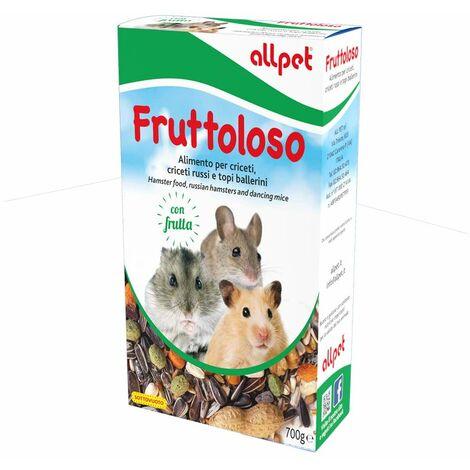 ALL PET FRUTTOLOSO SEMI/FRUTTA PICCOLI RODITORI 700 G