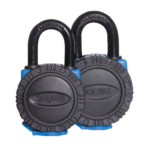 All Terrain Black Brass Key Padlocks