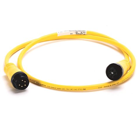 Allen-bradley 1485R-P1N5-M5 double cord of connection - 5P - Female-male - 4A