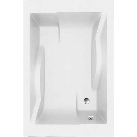 Allibert - Baignoire rectangulaire bi-place Blanc 180x120 cm volume 240 - 310 L - CONFIDENCE
