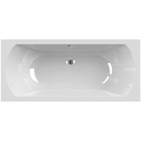 Allibert - Baignoire rectangulaire en acrylam 180 x 80 cm blanc 170 L - DIVA DUO