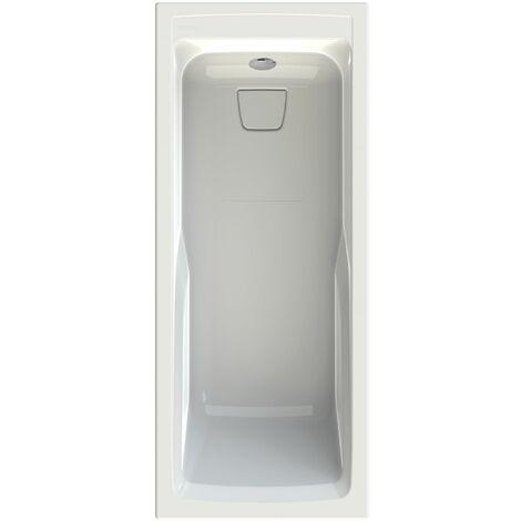 Allibert - Baignoire rectangulaire en Toplax 180 x 80 cm 145-215 L blanc - Sylene
