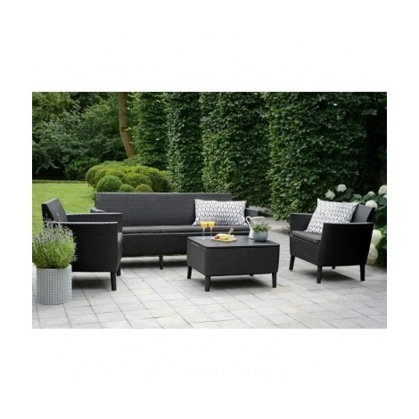 Allibert Mobilier De Jardin. Trendy Salon De Jardin Allibert Hawaii ...