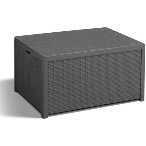 "main image of ""Allibert Storage Table Arica Graphite 221044 - Grey"""