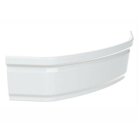 Allibert - Tablier de baignoire courbe 120 x 120 x 52-54 cm blanc - JACANA ANGLE