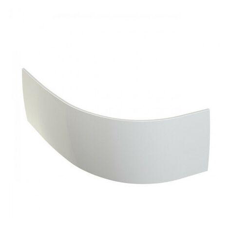 Allibert - Tablier de baignoire courbe 220,5 x 51,5 cm asymétrique blanc - DIVA