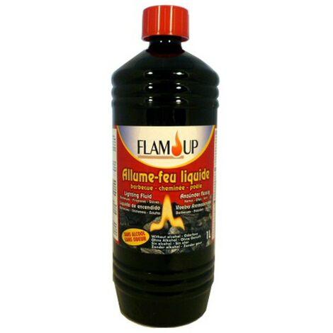 Allume-feu liquide sans odeur 1L