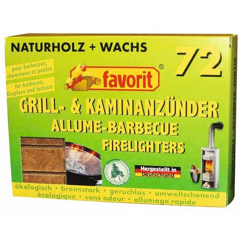 Allume-feu naturel Favorit