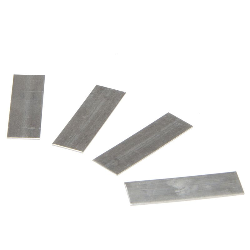 Image of ALM Manufacturing GH005 GH005 Aluminium Lap Strips Pack of 50