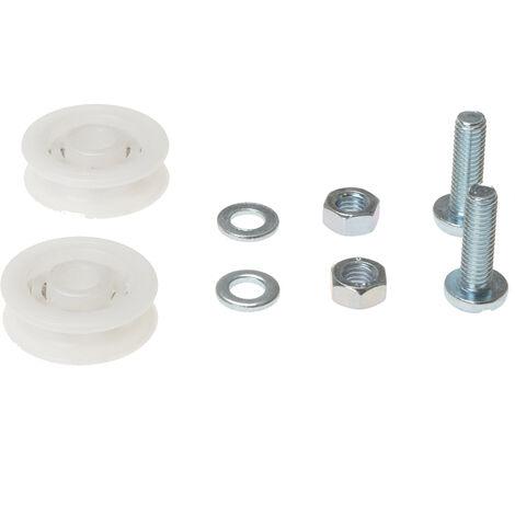 ALM Manufacturing GH006 GH006 Sliding Door Wheel Kit 2 x 28mm