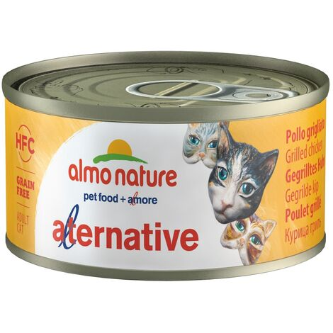 Almo Nature Chat Alternative Thon – Boîte, 70 g