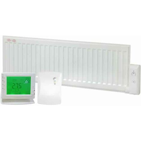 ALO eco Oil-Filled Electric Radiator, Skirting Wall Heater + Wireless Timer, Thermostat