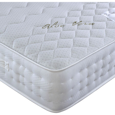 "main image of ""Aloe Vera Pocket Sprung Memory Foam Mattress"""