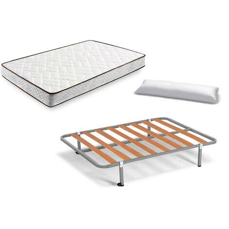 Aloe Vera + somier Basic + Almohada Fibra Fibra