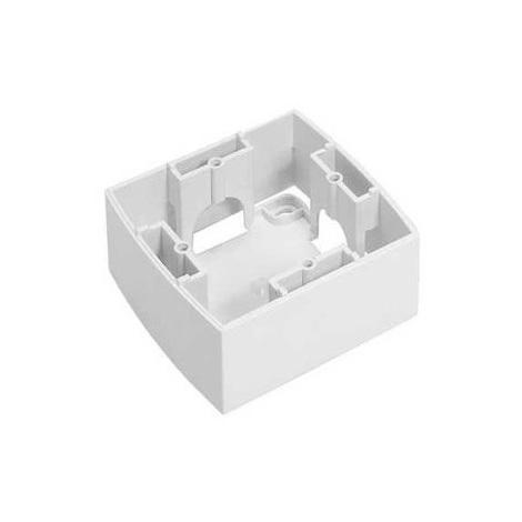 "main image of ""Alombard 81040 - Cadre saillie Design 1 poste Alvaïs - blanc"""