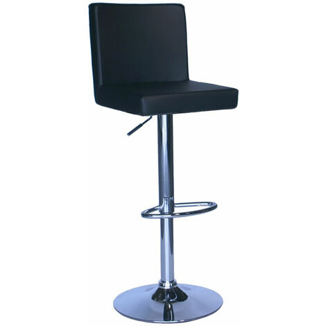 Alosbi Brushed Bar Stool Padded Seat