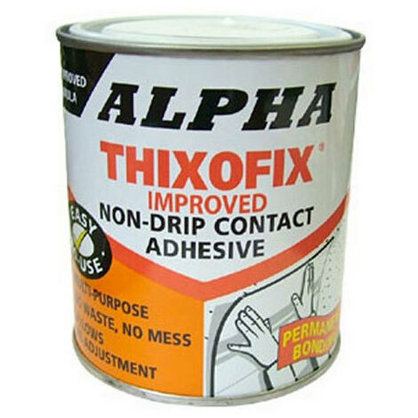 Alpha Dunlop Thixofix Contact Adhesive 2.5 Litre Tin