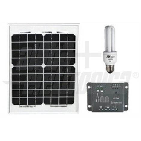 Alpha solar kit night 10w 12v stand alon kit10-sb