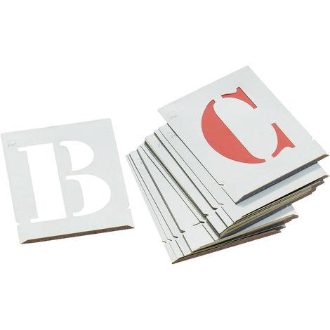 Alphabet zinc 50 mm - l'outil parfait