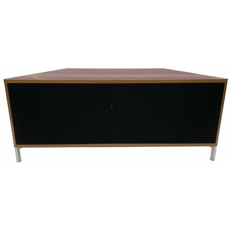 """main image of """"Alphason Hyde Walnut 1000 TV Unit Stand For Up To 60"""" Screen"""""""