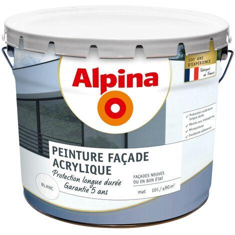 """main image of """"Alpina Peinture façade acrylique protection longue durée 10L Blanc"""""""