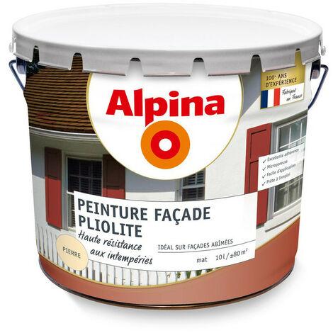 Alpina Peinture façade pliolite protection longue durée Ton Pierre