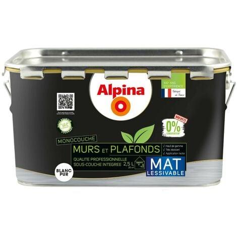 Alpina Peinture Murs et Plafonds 0% Conservateur Mat