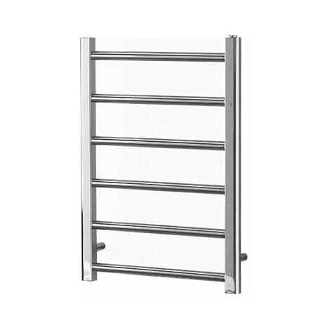ALPINE Chrome Modern Towel Warmer / Heated Towel Rail Radiator - Electric
