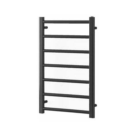 ALPINE ELEMENTS Heated Towel Rail / Warmer - Dual Fuel + Thermostat, Timer