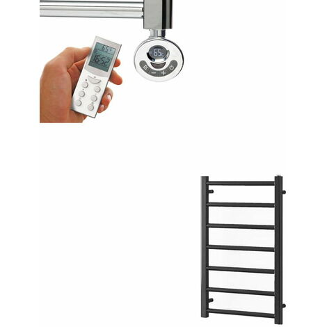 ALPINE ELEMENTS Heated Towel Rail / Warmer - Electric + Thermostat, Timer