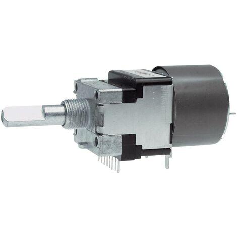ALPS RK16812MG 10KDX2 Potentiomètre motorisé étanche à la poussière stéréo 0.05 W 10 kΩ 1 pc(s) W15738