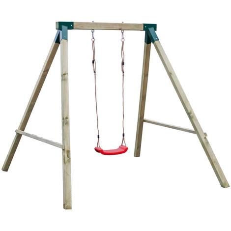 Altalena in legno per bambini gioco da giardino esterno for Altalena da giardino per bambini chicco