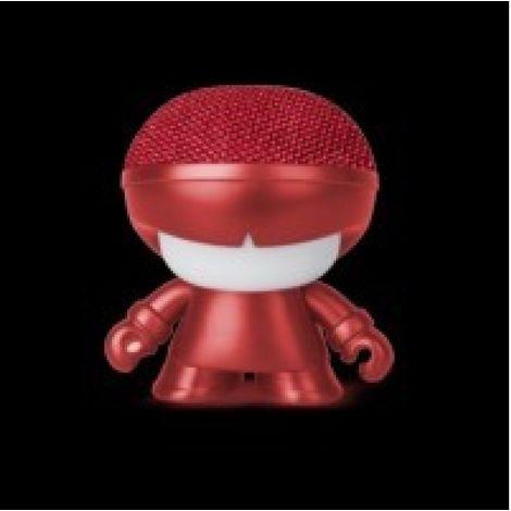 Altavoz 3w bluetooth xoopar rojo metalizado portat. xoxbm008