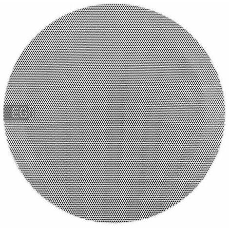 """Altavoz 5"""" HQ 6W 32 Ωs con rejilla metalica blanca y muelles EGI 06050"""