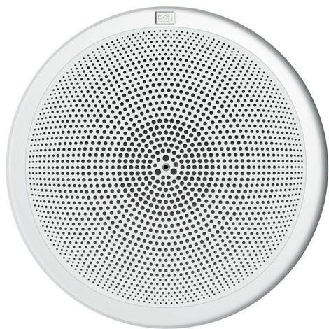 """Altavoz 5"""" HQ 6W 32 Ωs con rejilla plástica blanca y muelles EGI 06052"""