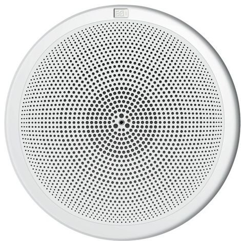"Altavoz 5"" HQ metalico 16 Ωs 6W con rejilla plástica blanca y muelles EGI 06044"